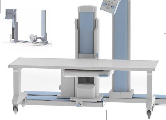فروش یک دستگاه رادیولوژی دیجیتال تک دیتکتور