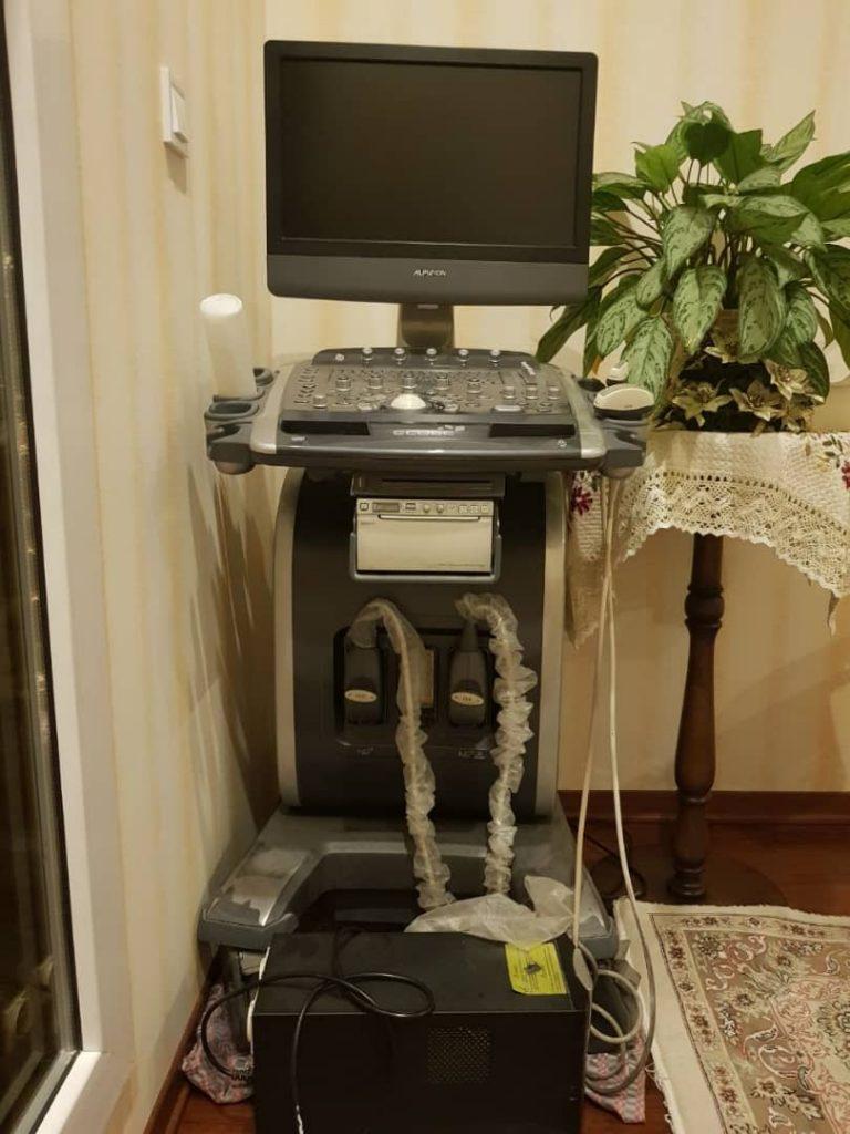 فروش دستگاه سونوگرافی alpinion ecube 9