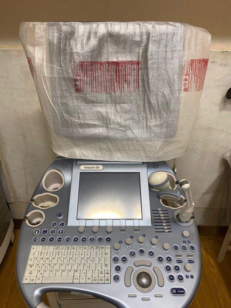 فروش دستگاه سونوگرافي voluson e8