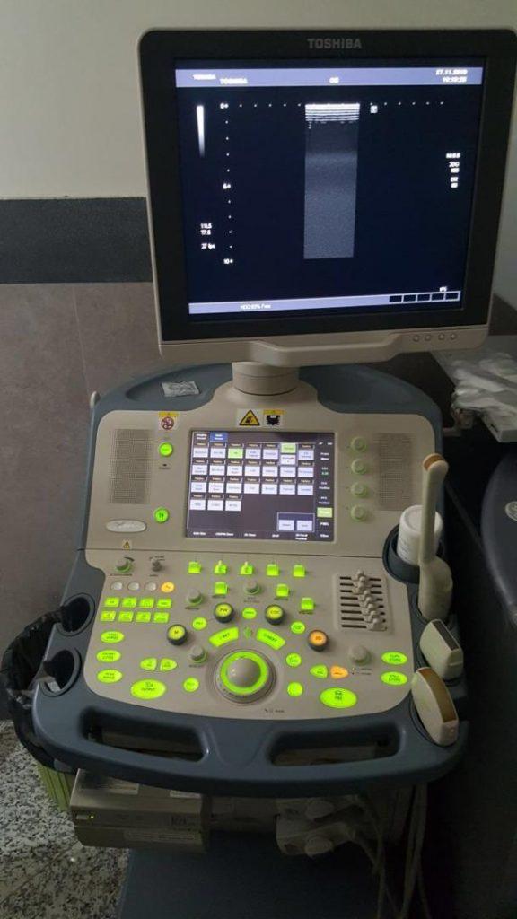 دستگاه سونوگرافی توشیبا مدل xario داپلر