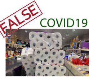 حمله برای خرید کاغذ توالت در پاندمی کووید 19