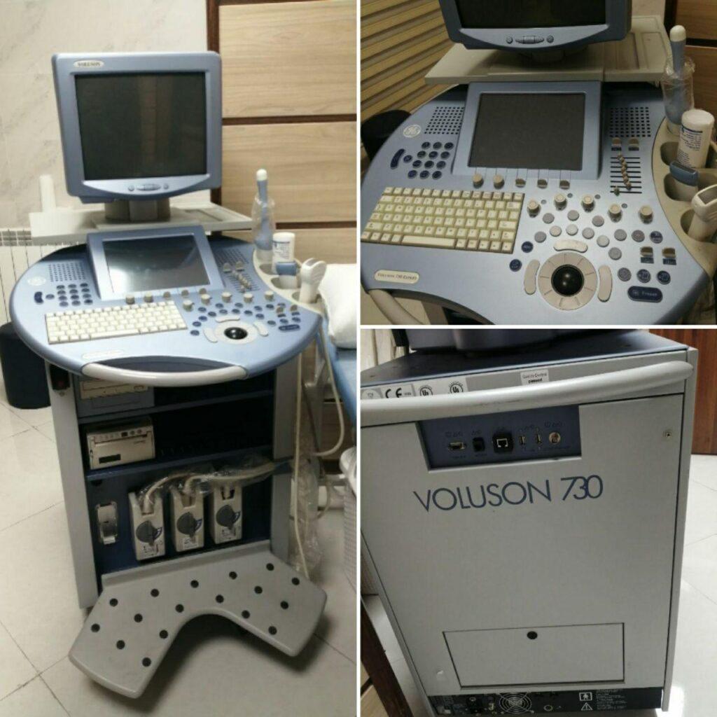 دستگاه سونوگرافی برند VOLUSON. 730. EXPERT