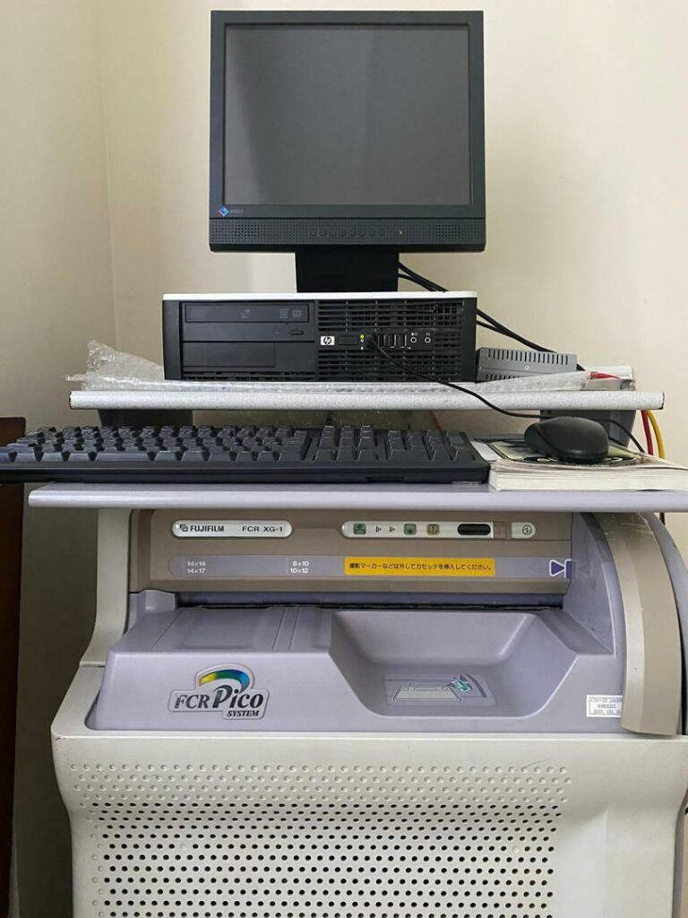 دستگاه سی آر فوجی به همراه دستگاه پرتابل خانگی