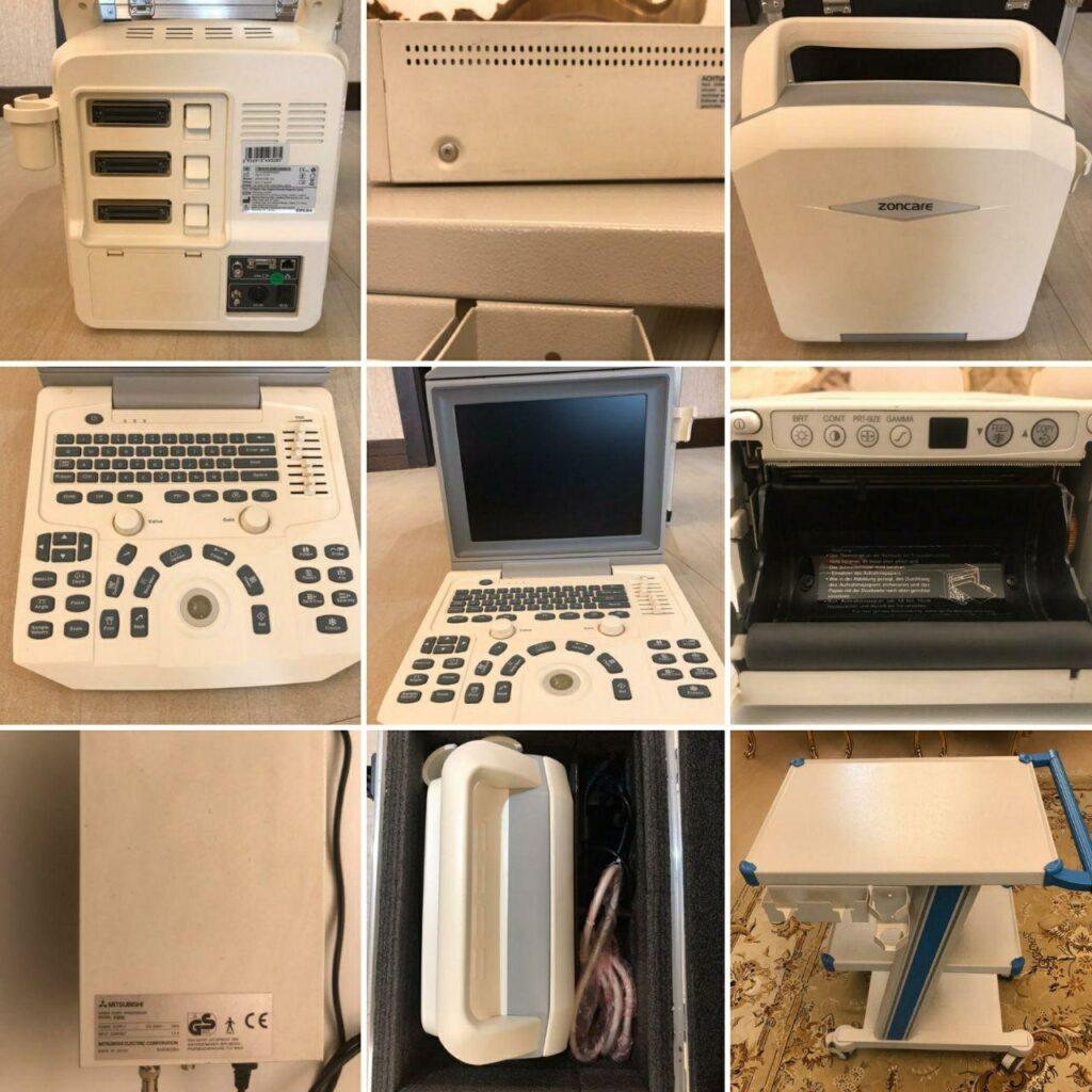دستگاه سونوگرافی پرتابل کالر داپلر ZONCARE-V3