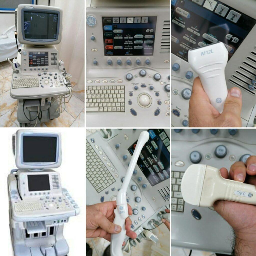 فروش دستگاه سونوگرافی کالر داپلر LOGIQ7