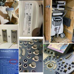 فروش دستگاه سونوگرافی ولوسونE8 -Bt14